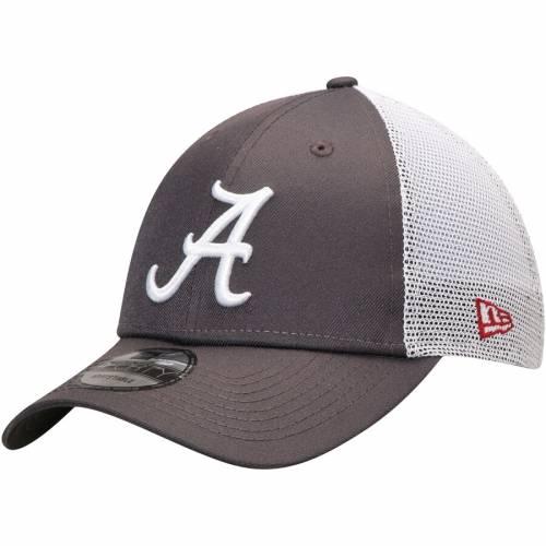 ニューエラ NEW ERA アラバマ トラッカー スナップバック バッグ キャップ 帽子 メンズキャップ メンズ 【 Alabama Crimson Tide Repreve Trucker 9forty Snapback Adjustable Hat - Graphite 】 Graphite