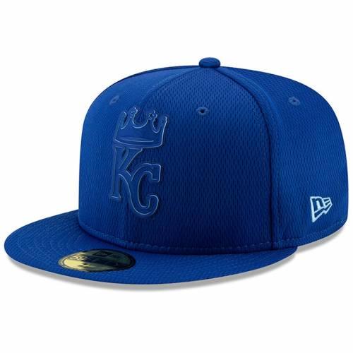 ニューエラ NEW ERA カンザス シティ ロイヤルズ コレクション バッグ キャップ 帽子 メンズキャップ メンズ 【 Kansas City Royals 2019 Clubhouse Collection 59fifty Fitted Hat - Royal 】 Royal