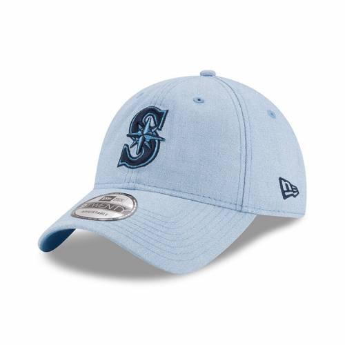 ニューエラ NEW ERA シアトル マリナーズ 青 ブルー バッグ キャップ 帽子 メンズキャップ メンズ 【 Seattle Mariners 2018 Fathers Day 9twenty Adjustable Hat - Light Blue 】 Light Blue
