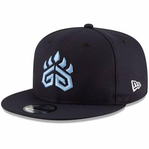 ニューエラ NEW ERA チーム スナップバック バッグ 紺 ネイビー キャップ 帽子 メンズキャップ メンズ 【 Grizz Gaming Nba 2k Team Color 9fifty Snapback Adjustable Hat - Navy 】 Navy