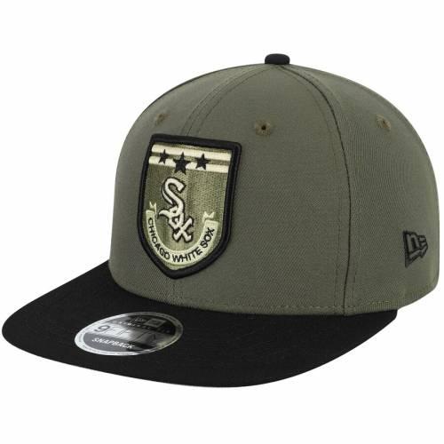 ニューエラ NEW ERA シカゴ 白 ホワイト 緑 グリーン バッグ キャップ 帽子 メンズキャップ メンズ 【 Chicago White Sox Army Patch 9fifty Adjustable Hat - Green 】 Green