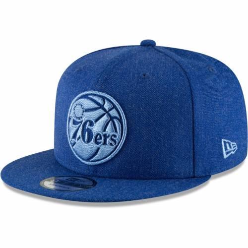 ニューエラ NEW ERA フィラデルフィア セブンティシクサーズ バッグ キャップ 帽子 メンズキャップ メンズ 【 Philadelphia 76ers Twisted Frame 9fifty Adjustable Hat - Royal 】 Royal