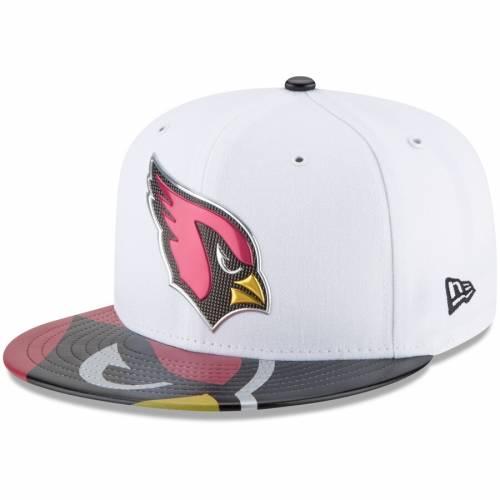 ニューエラ NEW ERA アリゾナ カーディナルス 白 ホワイト バッグ キャップ 帽子 メンズキャップ メンズ 【 Arizona Cardinals 2017 Nfl Draft Official On Stage 59fifty Fitted Hat - White 】 White