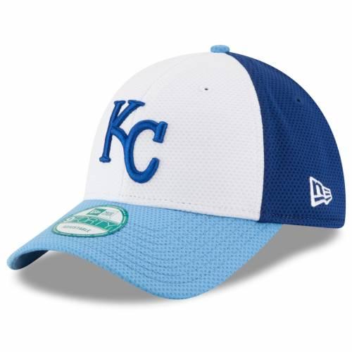 ニューエラ NEW ERA カンザス シティ ロイヤルズ 白 ホワイト バッグ キャップ 帽子 メンズキャップ メンズ 【 Kansas City Royals Perfect Block 2 9forty Adjustable Hat - White 】 White