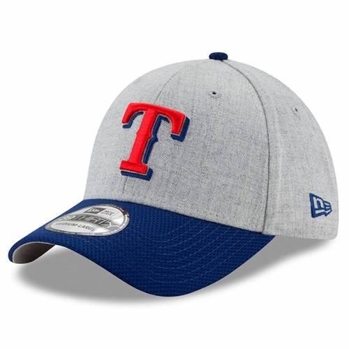 ニューエラ NEW ERA テキサス レンジャーズ バッグ キャップ 帽子 メンズキャップ メンズ 【 Texas Rangers Change Up Redux 39thirty Flex Hat - Heathered Gray/royal 】 Heathered Gray/royal