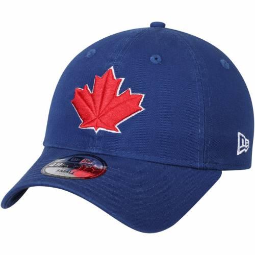 ニューエラ NEW ERA トロント 青 ブルー コア バッグ キャップ 帽子 メンズキャップ メンズ 【 Toronto Blue Jays Core Fit Replica 49forty Fitted Hat - Royal 】 Royal