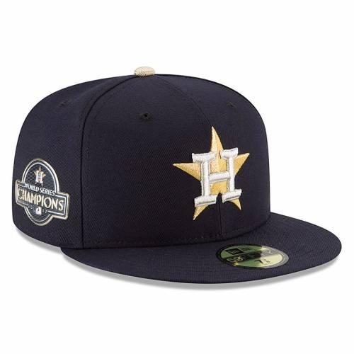 ニューエラ NEW ERA ヒューストン アストロズ 紺 ネイビー バッグ キャップ 帽子 メンズキャップ メンズ 【 Houston Astros 2018 Gold Program 59fifty Fitted Hat - Navy 】 Navy