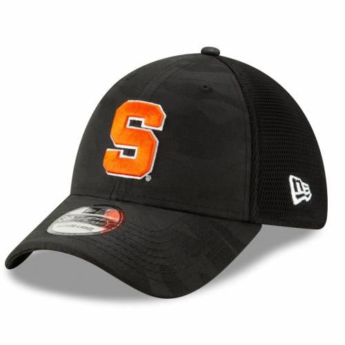 ニューエラ NEW ERA シラキュース 橙 オレンジ ネオ チャコール バッグ キャップ 帽子 メンズキャップ メンズ 【 Syracuse Orange Camo Neo Front 39thirty Flex Hat - Charcoal 】 Charcoal