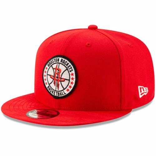 ニューエラ NEW ERA ヒューストン ロケッツ シリーズ チーム 赤 レッド バッグ キャップ 帽子 メンズキャップ メンズ 【 Houston Rockets 2018 Tip-off Series Team 9fifty Adjustable Hat - Red 】 Red