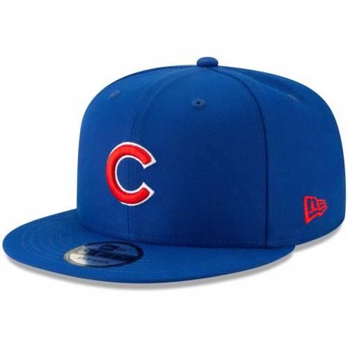 ニューエラ NEW ERA シカゴ カブス タグ スナップバック バッグ キャップ 帽子 メンズキャップ メンズ 【 Chicago Cubs Tag Turn 9fifty Adjustable Snapback Hat - Royal 】 Royal
