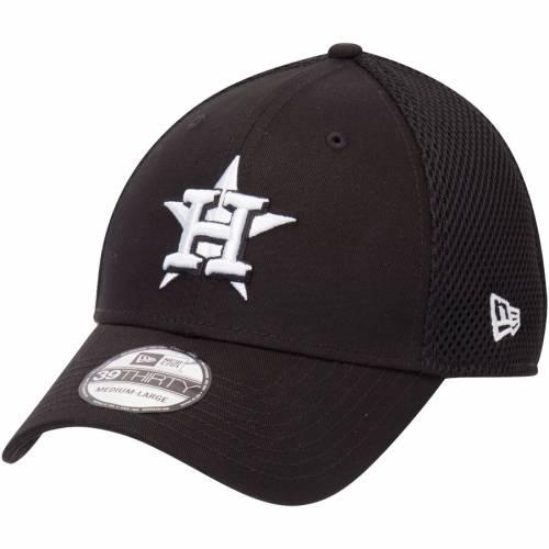 ニューエラ NEW ERA ヒューストン アストロズ ネオ 黒 ブラック バッグ キャップ 帽子 メンズキャップ メンズ 【 Houston Astros Neo 39thirty Unstructured Flex Hat- Black 】 Black