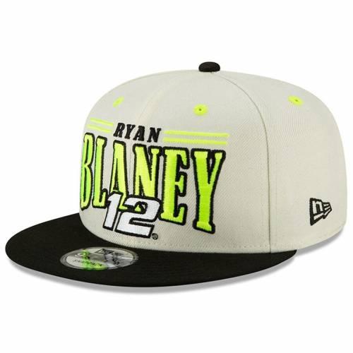ニューエラ NEW ERA ビンテージ ヴィンテージ スナップバック バッグ キャップ 帽子 メンズキャップ メンズ 【 Ryan Blaney 9fifty Vintage Name Snapback Adjustable Hat - Cream/black 】 Cream/black