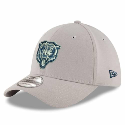 ニューエラ NEW ERA シカゴ ベアーズ 灰色 グレー グレイ バッグ キャップ 帽子 メンズキャップ メンズ 【 Chicago Bears Tonal Pop 39thirty Flex Hat - Gray 】 Gray