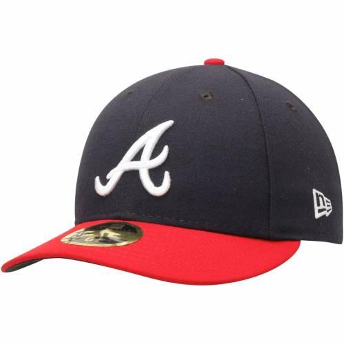 ニューエラ NEW ERA アトランタ ブレーブス オーセンティック コレクション バッグ キャップ 帽子 メンズキャップ メンズ 【 Atlanta Braves Home Authentic Collection On-field Low Profile 59fifty Fitted Hat -