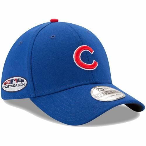 ニューエラ NEW ERA シカゴ カブス バッグ キャップ 帽子 メンズキャップ メンズ 【 Chicago Cubs 2018 Postseason Side Patch 39thirty Flex Hat - Royal 】 Royal