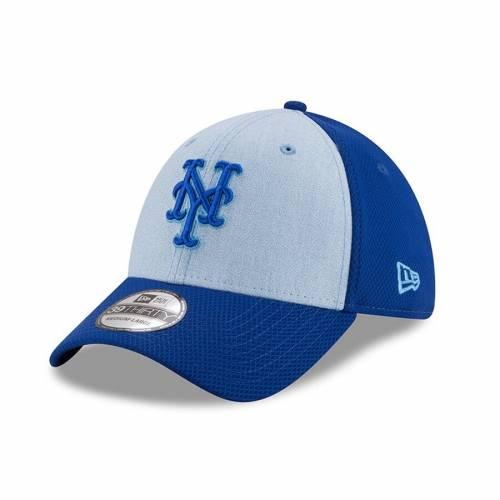 ニューエラ NEW ERA メッツ 青 ブルー バッグ キャップ 帽子 メンズキャップ メンズ 【 New York Mets 2018 Fathers Day 39thirty Flex Hat - Light Blue 】 Light Blue