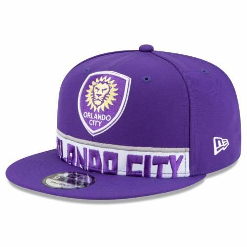 ニューエラ NEW ERA オーランド シティ デュエル 紫 パープル バッグ キャップ 帽子 メンズキャップ メンズ 【 Orlando City Sc Dual Spirit 9fifty Adjustable Hat - Purple 】 Purple