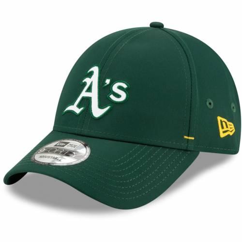 ニューエラ NEW ERA オークランド 緑 グリーン バッグ キャップ 帽子 メンズキャップ メンズ 【 Oakland Athletics Dash Featherweight 9forty Adjustable Hat - Green 】 Green