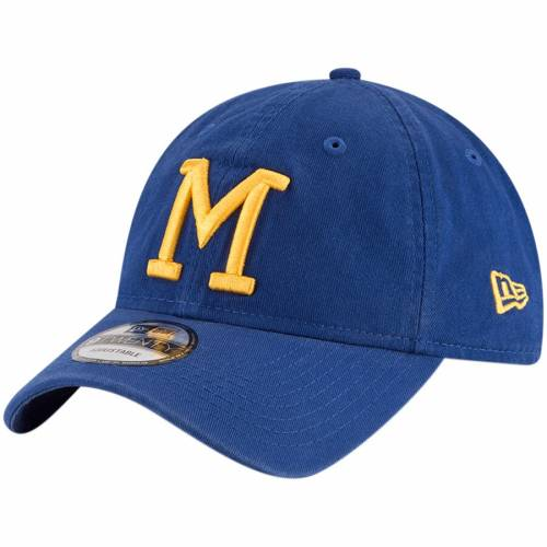 ニューエラ NEW ERA ミルウォーキー ブルワーズ クーパーズタウン コレクション コア クラシック バッグ キャップ 帽子 メンズキャップ メンズ 【 Milwaukee Brewers Cooperstown Collection Core Classic