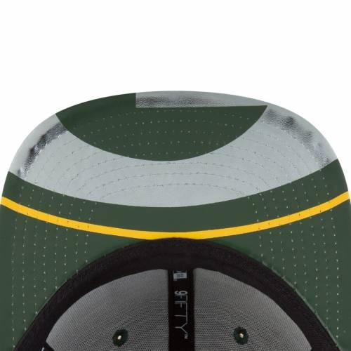 ニューエラ NEW ERA 緑 グリーン パッカーズ スナップバック バッグ キャップ 帽子 メンズキャップ メンズ 【 Green Bay Packers 2017 Nfl Draft On Stage Original Fit 9fifty Snapback Adjustable Hat - Green 】 Green