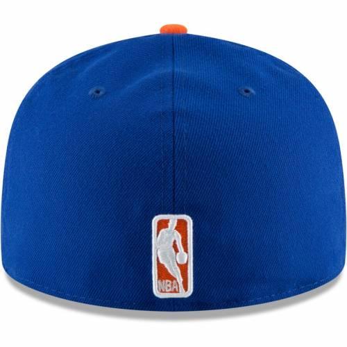 ニューエラ NEW ERA ニックス スクリプト 青 ブルー バッグ キャップ 帽子 メンズキャップ メンズ 【 New York Knicks Visor Script 59fifty Fitted Hat - Blue 】 Blue