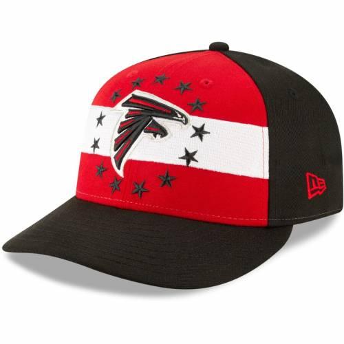ニューエラ NEW ERA アトランタ ファルコンズ 赤 レッド バッグ キャップ 帽子 メンズキャップ メンズ 【 Atlanta Falcons 2019 Nfl Draft On-stage Official Low Profile 59fifty Fitted Hat - Red 】 Red