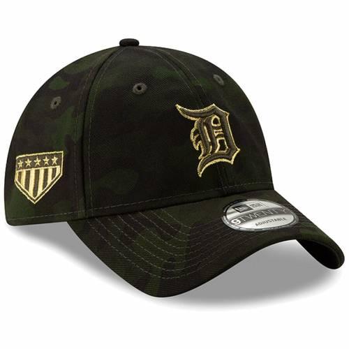 ニューエラ NEW ERA デトロイト タイガース バッグ キャップ 帽子 メンズキャップ メンズ 【 Detroit Tigers 2019 Mlb Armed Forces Day 9twenty Adjustable Hat - Camo 】 Camo