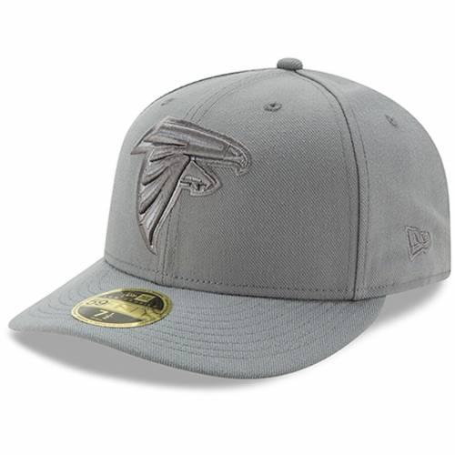 ニューエラ NEW ERA アトランタ ファルコンズ 灰色 グレー グレイ バッグ キャップ 帽子 メンズキャップ メンズ 【 Atlanta Falcons Storm Gray League Basic Low Profile 59fifty Structured Hat 】 Color