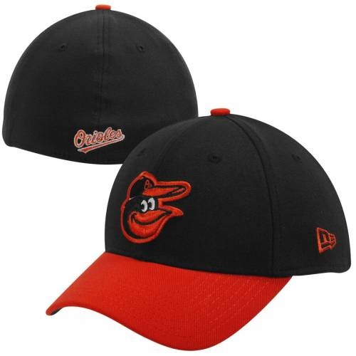 ニューエラ NEW ERA ボルティモア オリオールズ チーム クラシック バッグ キャップ 帽子 メンズキャップ メンズ 【 Baltimore Orioles Mlb Team Classic 39thirty Flex Hat - Black/orange 】 Black/orange