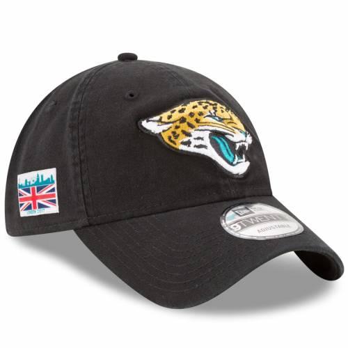 ニューエラ NEW ERA ジャクソンビル ジャガース ゲーム コア クラシック 黒 ブラック バッグ キャップ 帽子 メンズキャップ メンズ 【 Jacksonville Jaguars London Game Patch Core Classic 9twenty Adjustable