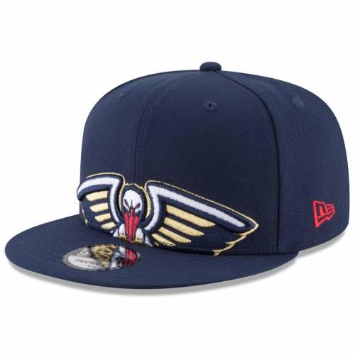 ニューエラ NEW ERA スナップバック バッグ 紺 ネイビー キャップ 帽子 メンズキャップ メンズ 【 New Orleans Pelicans Y2k Big Under 9fifty Adjustable Snapback Hat - Navy 】 Navy