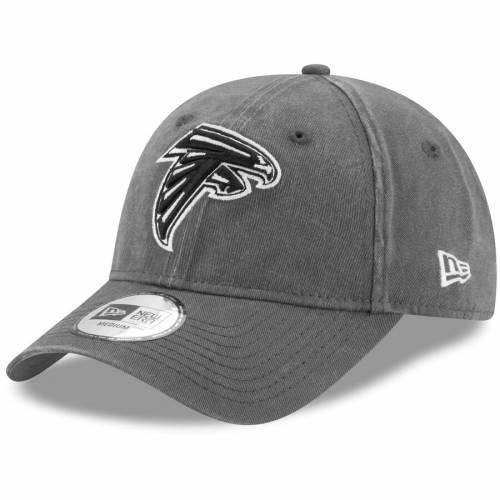 ニューエラ NEW ERA アトランタ ファルコンズ チャコール バッグ キャップ 帽子 メンズキャップ メンズ 【 Atlanta Falcons Sagamore Relaxed 49forty Fitted Hat - Charcoal 】 Charcoal