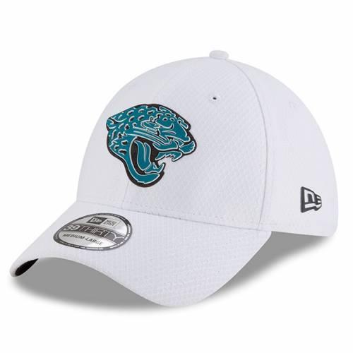 ニューエラ NEW ERA ジャクソンビル ジャガース トレーニング 白 ホワイト バッグ キャップ 帽子 メンズキャップ メンズ 【 Jacksonville Jaguars 2018 Training Camp 39thirty Flex Hat - White 】 White