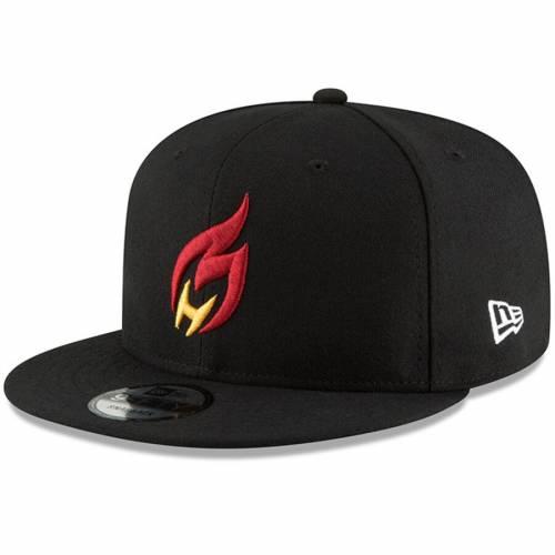 ニューエラ NEW ERA ヒート チーム スナップバック バッグ 黒 ブラック キャップ 帽子 メンズキャップ メンズ 【 Heat Check Gaming Nba 2k Team Color 9fifty Snapback Adjustable Hat - Black 】 Black