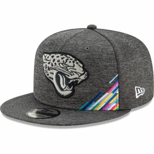 ニューエラ NEW ERA ジャクソンビル ジャガース スナップバック バッグ ヘザー 灰色 グレー グレイ キャップ 帽子 メンズキャップ メンズ 【 Jacksonville Jaguars 2019 Nfl Crucial Catch 9fifty Snapback A