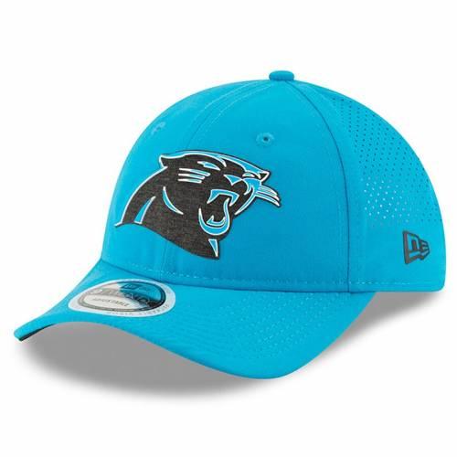 ニューエラ NEW ERA カロライナ パンサーズ トレーニング 青 ブルー バッグ キャップ 帽子 メンズキャップ メンズ 【 Carolina Panthers 2018 Training Camp Primary 9twenty Adjustable Hat - Blue 】 Blue