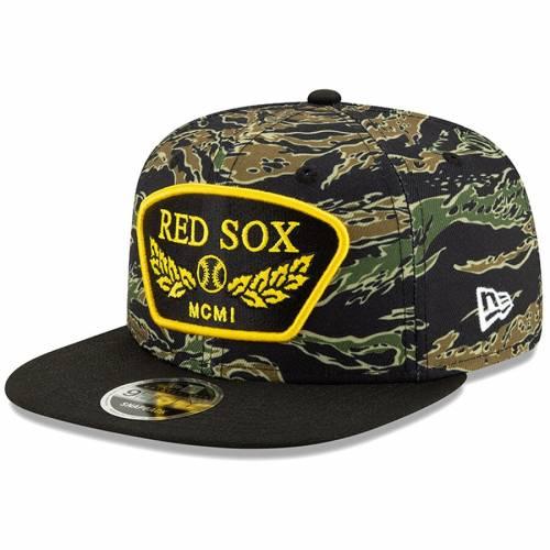 ニューエラ NEW ERA ボストン 赤 レッド スナップバック バッグ キャップ 帽子 メンズキャップ メンズ 【 Boston Red Sox League Vet 9fifty Snapback Adjustable Hat - Camo 】 Camo