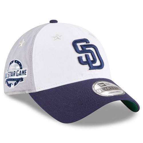 ニューエラ NEW ERA パドレス ゲーム バッグ キャップ 帽子 メンズキャップ メンズ 【 San Diego Padres 2018 Mlb All-star Game 9twenty Adjustable Hat - White/blue 】 White/blue