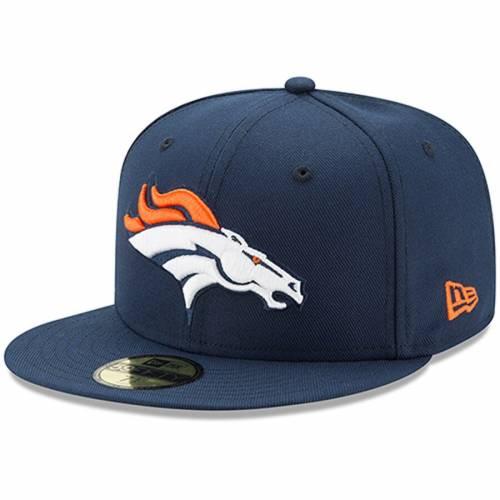 ニューエラ NEW ERA デンバー ブロンコス 紺 ネイビー バッグ キャップ 帽子 メンズキャップ メンズ 【 Denver Broncos Omaha 59fifty Fitted Hat - Navy 】 Navy