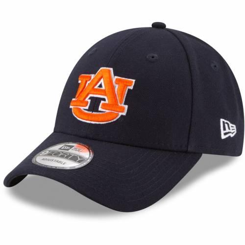 ニューエラ NEW ERA タイガース 紺 ネイビー バッグ キャップ 帽子 メンズキャップ メンズ 【 Auburn Tigers The League 9forty Adjustable Hat - Navy 】 Navy