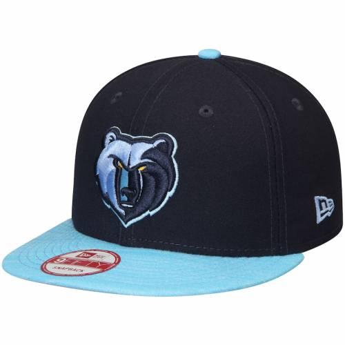 ニューエラ NEW ERA メンフィス グリズリーズ ロゴ チーム ソリッド スナップバック バッグ キャップ 帽子 メンズキャップ メンズ 【 Memphis Grizzlies Current Logo Team Solid 9fifty Snapback Adjustable Ha