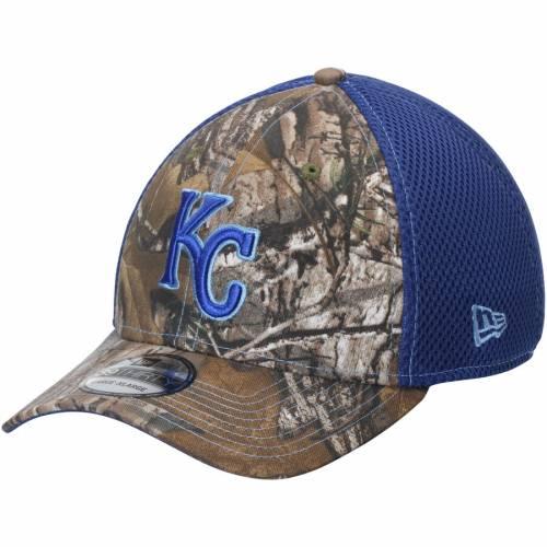 ニューエラ NEW ERA カンザス シティ ロイヤルズ ネオ バッグ キャップ 帽子 メンズキャップ メンズ 【 Kansas City Royals Neo 39thirty Flex Hat - Realtree Camo 】 Realtree Camo