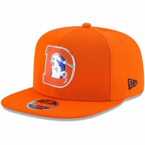 ニューエラ NEW ERA デンバー ブロンコス ラッシュ スナップバック バッグ 橙 オレンジ キャップ 帽子 メンズキャップ メンズ 【 Denver Broncos 2017 Color Rush 9fifty Snapback Adjustable Hat - Orange 】 Or