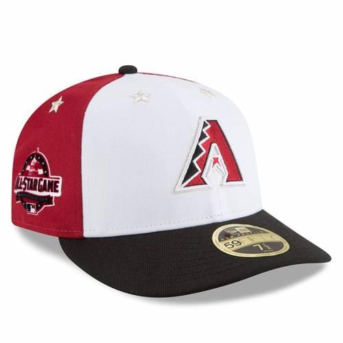 ニューエラ NEW ERA アリゾナ ダイヤモンドバックス ゲーム バッグ キャップ 帽子 メンズキャップ メンズ 【 Arizona Diamondbacks 2018 Mlb All-star Game On-field Low Profile 59fifty Fitted Hat - White/black 】 Wh