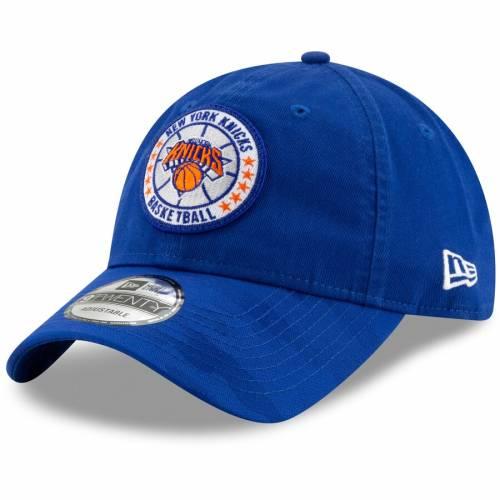 ニューエラ NEW ERA ニックス シリーズ 青 ブルー バッグ キャップ 帽子 メンズキャップ メンズ 【 New York Knicks 2018 Tip-off Series 9twenty Adjustable Hat - Blue 】 Blue