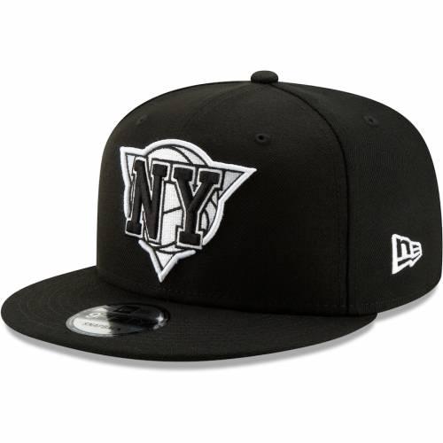 ニューエラ NEW ERA ニックス ハーフ シリーズ スナップバック バッグ 黒 ブラック キャップ 帽子 メンズキャップ メンズ 【 New York Knicks Back Half Series 9fifty Adjustable Snapback Hat - Black 】 Black