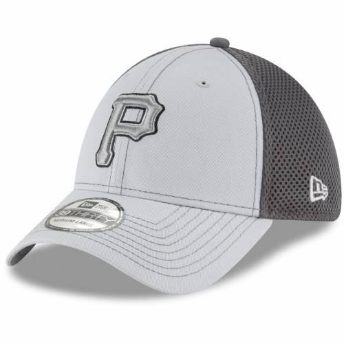 ニューエラ NEW ERA ピッツバーグ 海賊団 ネオ 灰色 グレー グレイ バッグ キャップ 帽子 メンズキャップ メンズ 【 Pittsburgh Pirates Grayed Out Neo 39thirty Flex Hat - Gray 】 Gray
