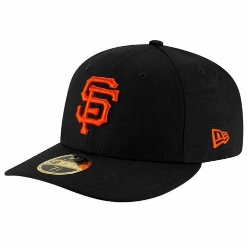 ニューエラ NEW ERA ジャイアンツ チーム 黒 ブラック バッグ キャップ 帽子 メンズキャップ メンズ 【 San Francisco Giants Team Superb Low Profile 59fifty Fitted Hat - Black 】 Black