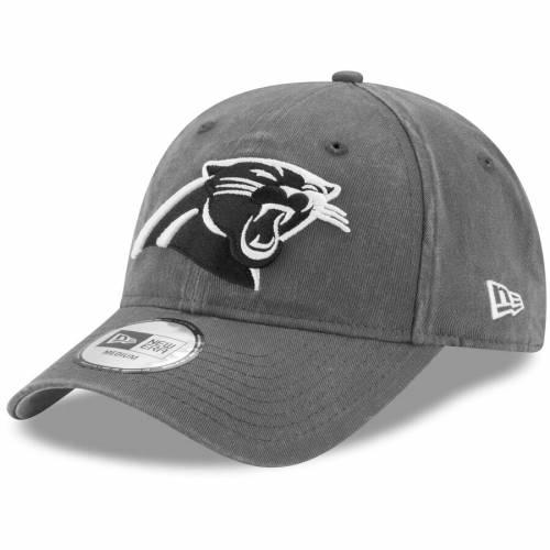 ニューエラ NEW ERA カロライナ パンサーズ チャコール バッグ キャップ 帽子 メンズキャップ メンズ 【 Carolina Panthers Sagamore Relaxed 49forty Fitted Hat - Charcoal 】 Charcoal
