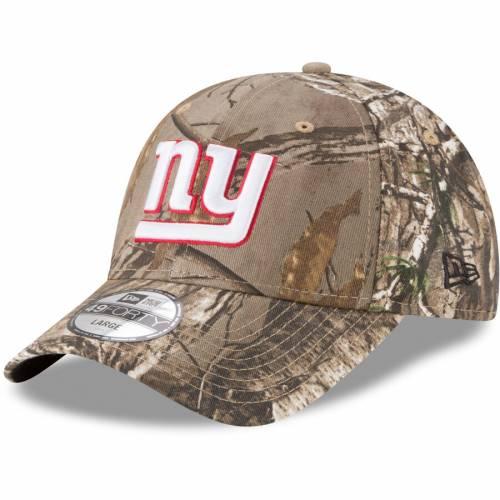 ニューエラ NEW ERA ジャイアンツ バッグ キャップ 帽子 メンズキャップ メンズ 【 New York Giants Realtree 49forty Fitted Hat - Realtree Camo 】 Realtree Camo